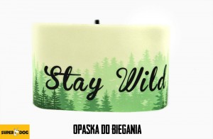 Opaska do biegania-Stay Wild