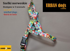 Szelki Urban dogs-norweskie