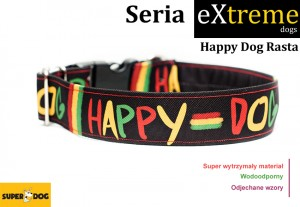 Happy dog Rasta