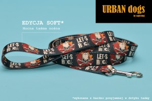 Smycz Urban dogs -  Let's rock