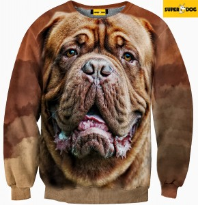Bluza-Dog de bordeaux