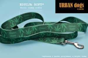 Smycz Urban dogs -  Green team