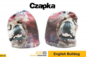 Czapka English bulldog